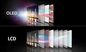 شکل1-تلویزیون OLED اولد چیست