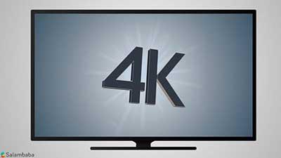 شکل1- تلویزیون 4K