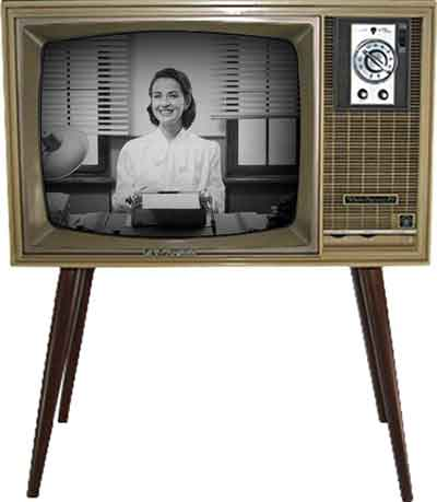 شکل2-سیر تکامل تلویزیون-آغاز تلویزیون، CRT