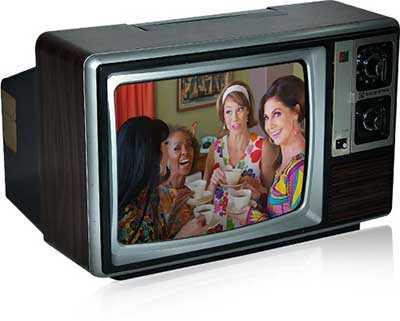 شکل3-سیر تکامل تلویزیون-تلویزیون های رنگی