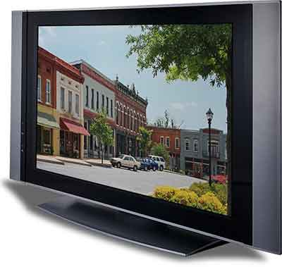 شکل4- تلویزیون پلاسما