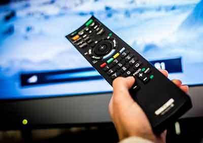 شکل ریموت کنترل تلویزیون