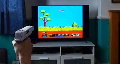 شکل1-بازی های تفنگ نوری