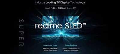 شکل – اولین تلویزیون SLED هوشمند